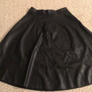 Guess Faux leather skirt